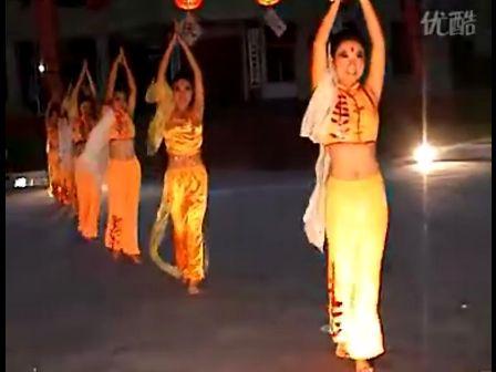 天竺少女舞蹈视频 肚皮舞